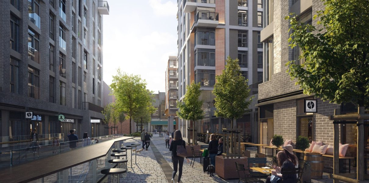 Station Hill, Reading, CGI impression